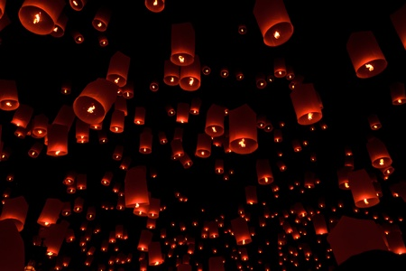 Floating lantern Stock Photo - 11105115