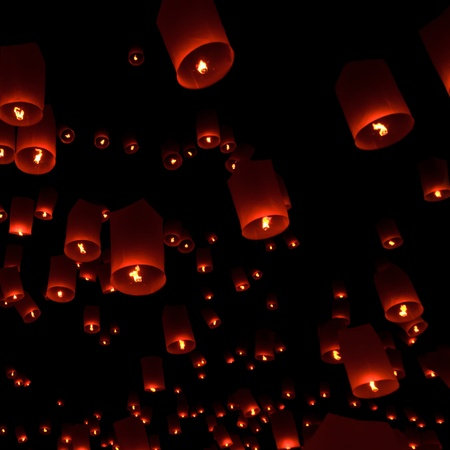Floating lantern Stock Photo - 11764391