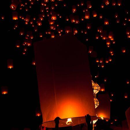 Floating lantern Stock Photo - 11764393