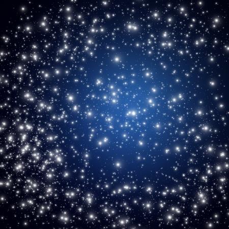 Star on sky at night Stock Photo - 12750038
