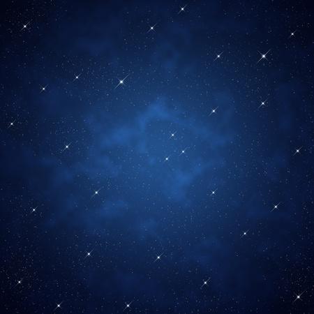 trek: Star on sky at night