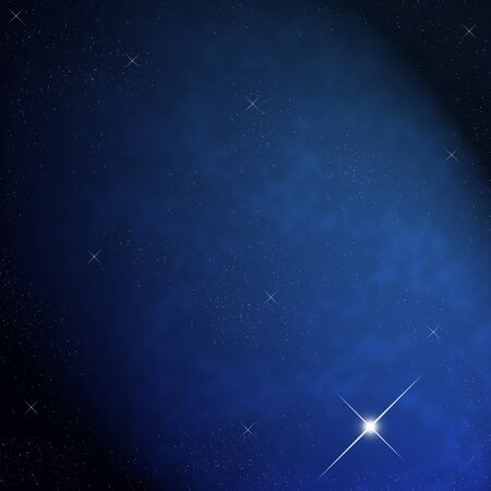 Star on sky at night Stock Photo - 12750041
