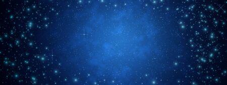 Star on sky at night  photo