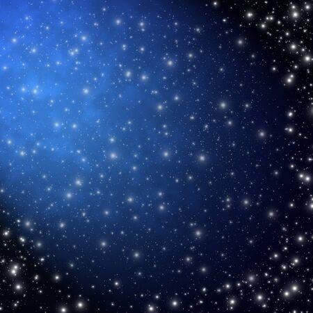 Star on sky at night  Stock Photo - 12750116