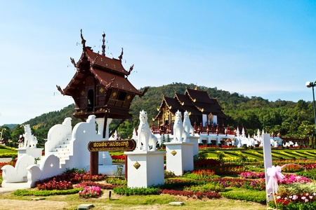 Ho kham luang northern Thailand in royal flora expo, Chiangmai Thailand