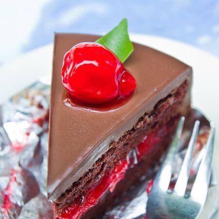Chocolate cake Stock Photo - 12948916