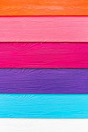 Colorful wood board  Stock Photo
