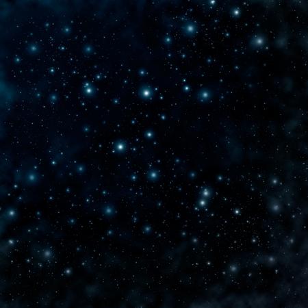 noche estrellada: Estrella en un cielo nocturno