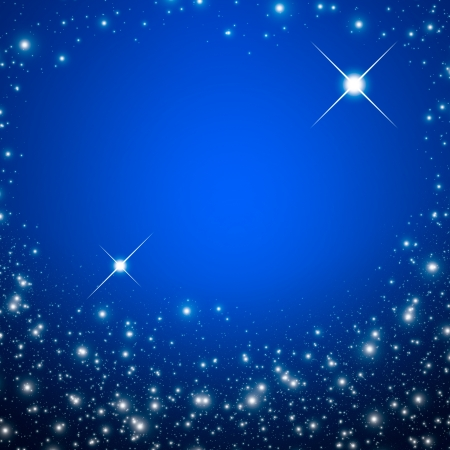 Star on a night sky Stock Photo - 14560946
