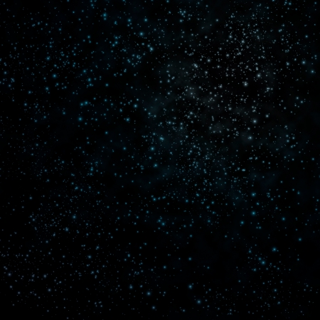 Star on a night sky  Stock Photo