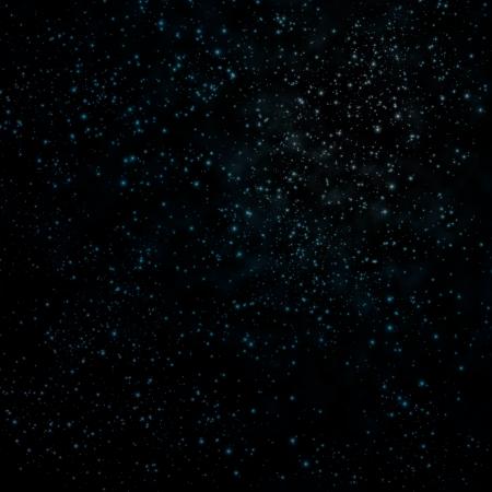 the pleiades: Star on a night sky  Stock Photo
