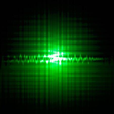 radio wave: Circle wave abstract