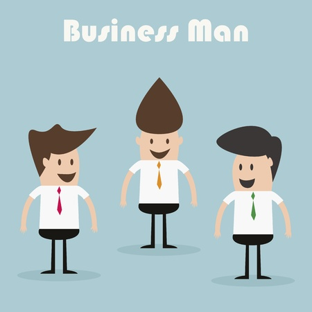 businessmen team Stock Vector - 19579699