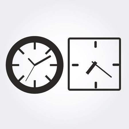 reloj de pared: Iconos del reloj