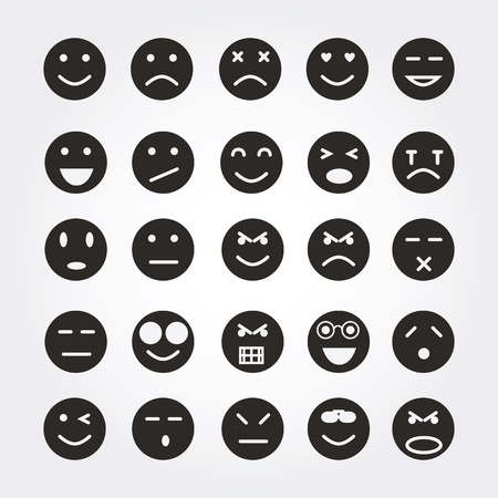 emotion icons Stock Photo - 20893928