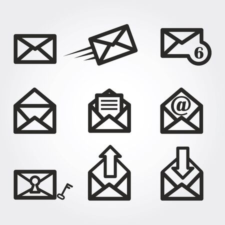 email icon: mail icons
