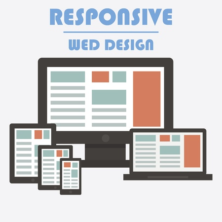 Responsive Web Design  Stock Photo - 20894014