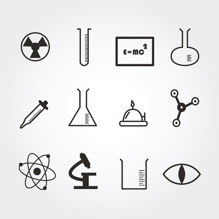 science icons: science icons