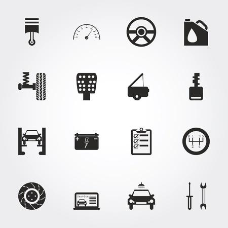 disk break: Auto Service Icons