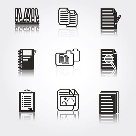 document icon: document icons