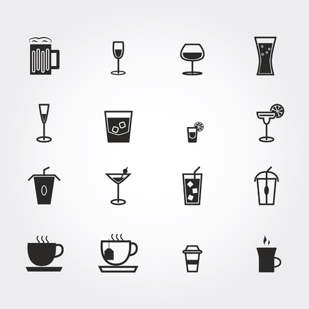 Drink icons photo