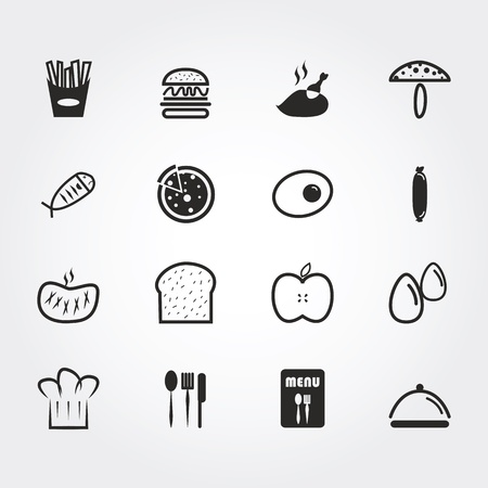 food icons photo