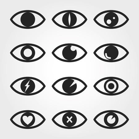 open eye: eye icon