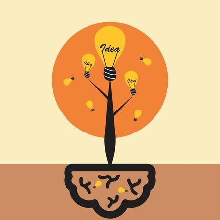 Idea tree concept
