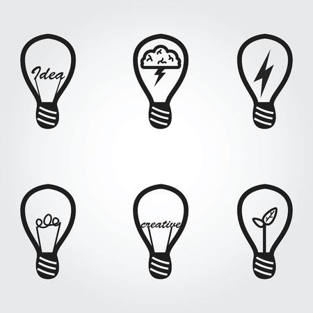 scriibble: Light bulb icons