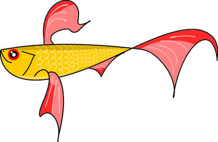 goldfish Stock Vector - 8246714