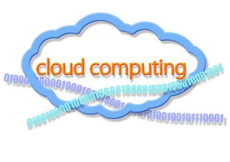 cloud computing Stock Photo - 9561179
