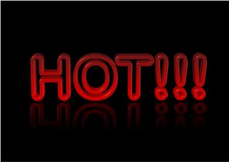 sign hot