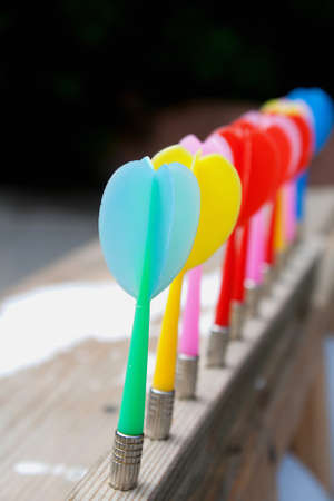 Set Of Color Darts