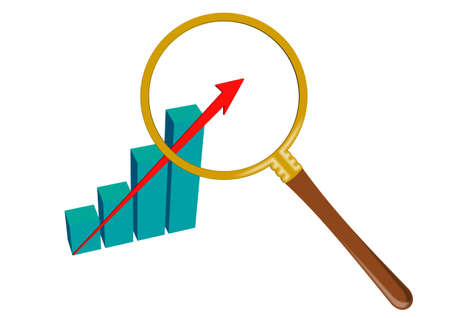 diagram analysis Stock Photo