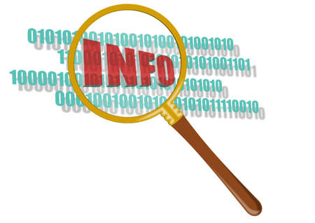 searching information Stock Photo - 11094762