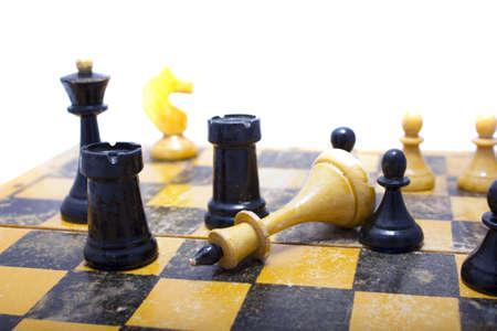 chess king down