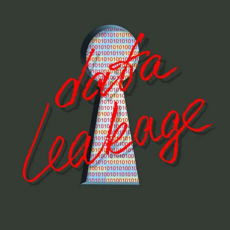 data leakage Stock Photo - 16098044