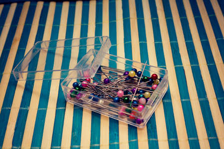 pins in box