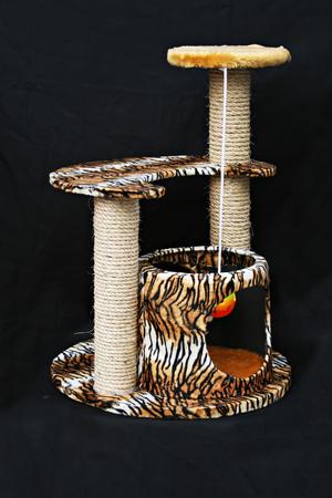 Condo toys for cat Stock Photo