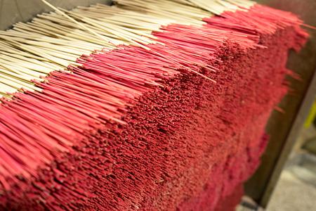 Incense stack for sacred worship Фото со стока