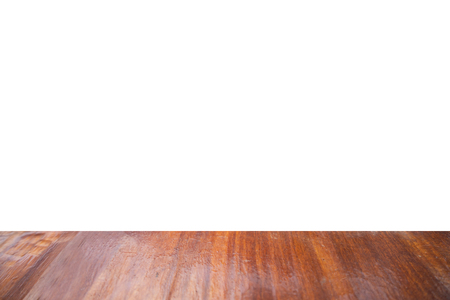 Struttura in legno su sfondo bianco isolato.