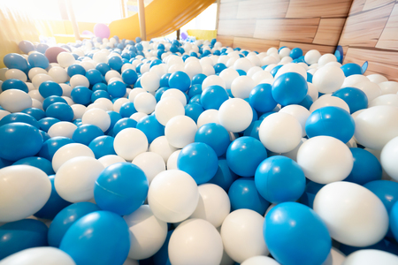Ball pool at playground for kid