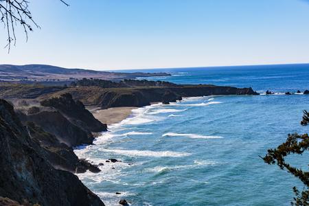 Beautiful view from Pebble Beach, California