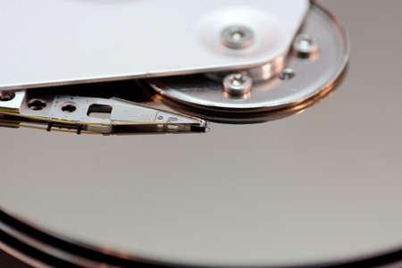 Die Festplatte im Detail betrachtet Stock Photo - 747656