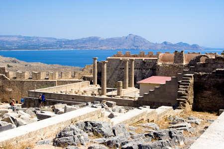 lindos: Acropolis of Lindos