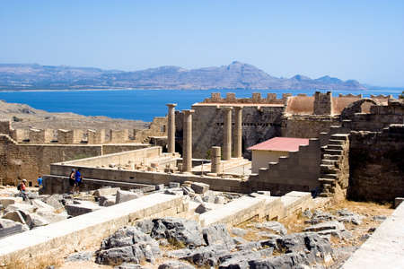 antik: Acropolis of Lindos