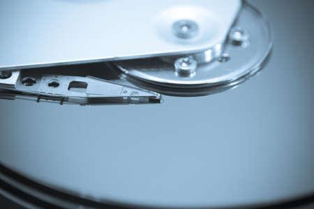 Hard Disk Drive Close-up photo