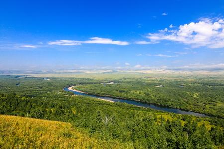mongolia: Inner Mongolia River Stock Photo