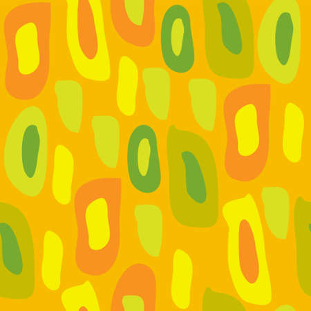 Seamless texture of a colored spots Vector