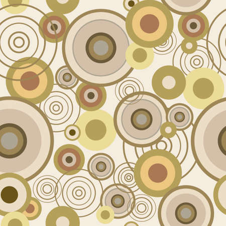 Seamless texture with a concentric circles Vector